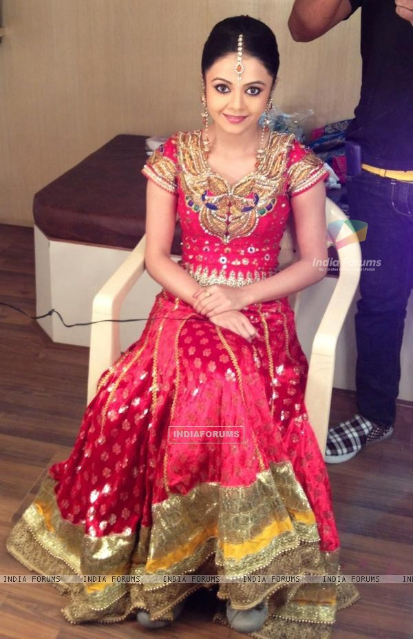 Devoleena Bhattacharjee at star dandiya event