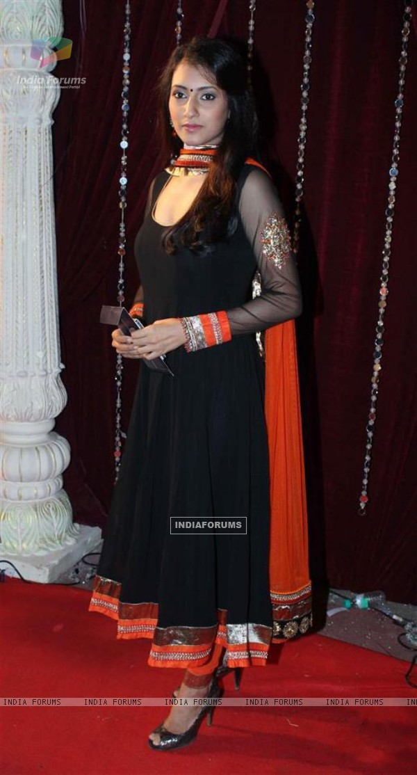 Additi Gupta at Zee Rishtey Awards 2012