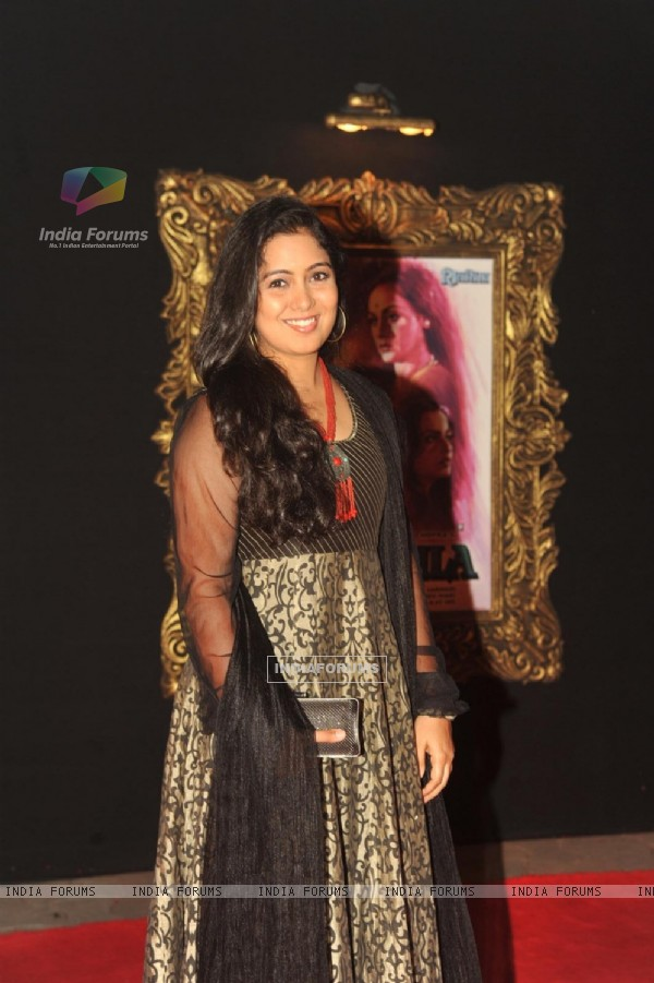 Harshdeep Kaur at Red Carpet for premier of film Jab Tak Hai Jaan