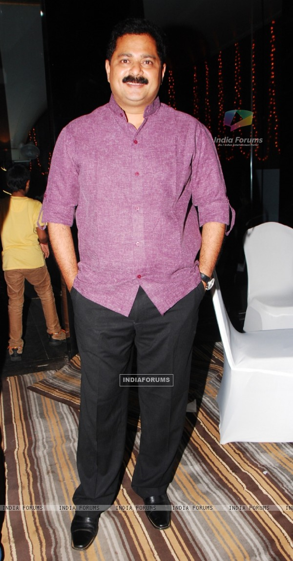 Adesh Bandekar at the launch of Production house Thoughtrain Entertainment