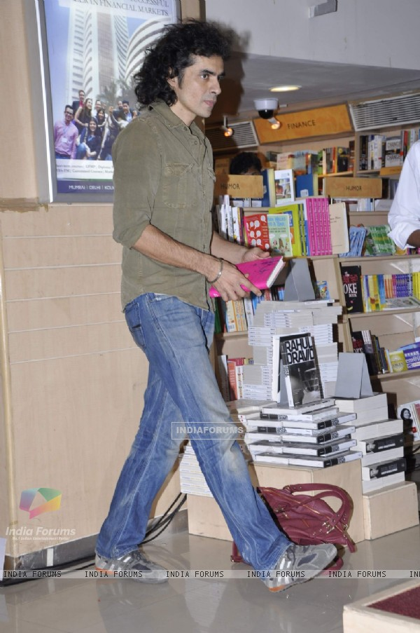 Director Imtiaz Ali at the launch of author Chandrima Pal's first novel A Song for I in Mumbai.