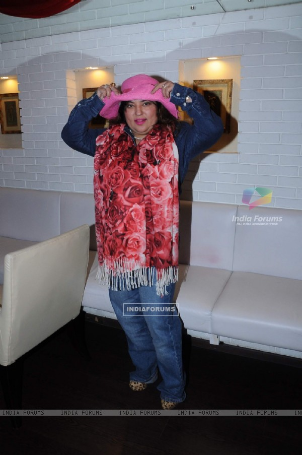Bollywood actress Dolly Bindra at Cake Mixing Ceremony