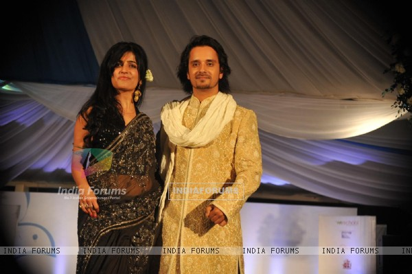 Raghav Sachar and Shibani Kashyap Walks For 'Global Peace Initiative'