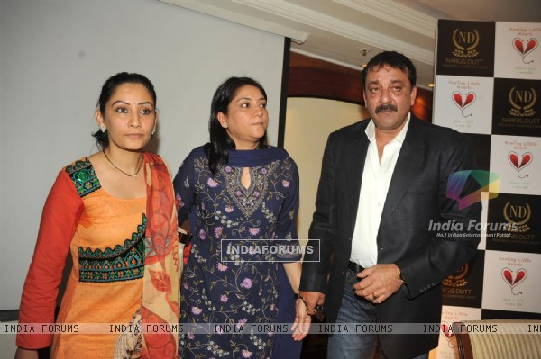 Sanjay Dutt attended the Nargis Dutt Memorial Trust