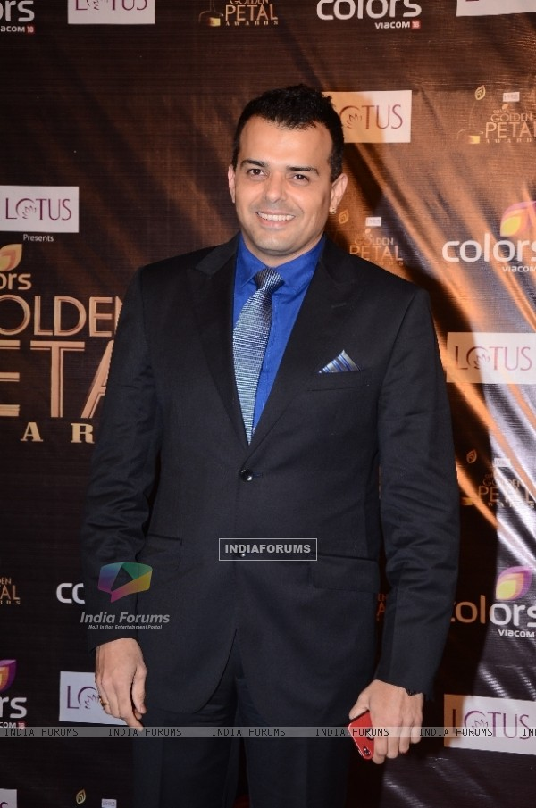 COLORS fiction head Prashant Bhatt at Colors Golden Petal Awards Red Carpet Moments