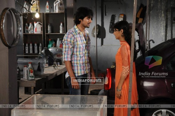 Harshad Chopda and Sriti Jha