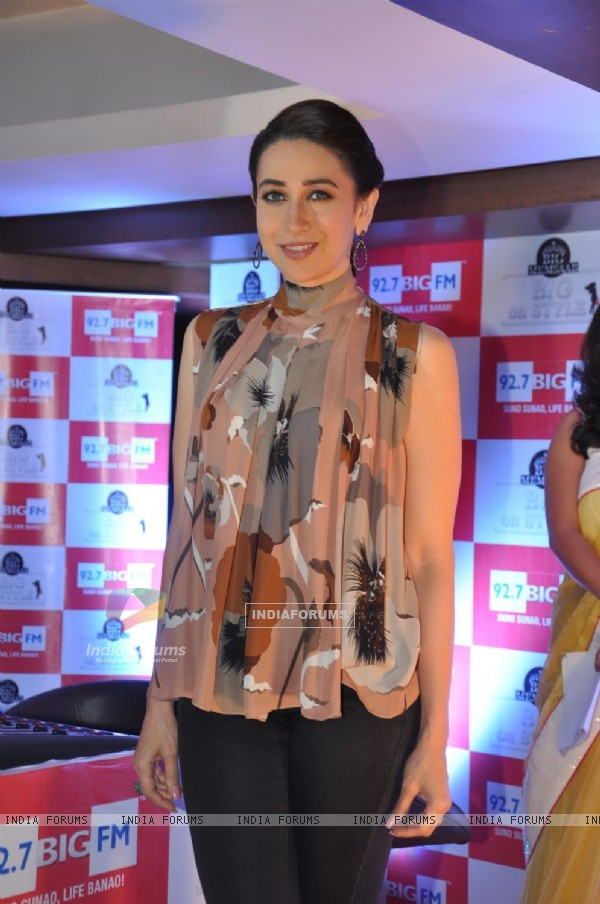 Karisma Kapoor at 92.7 BIG FM event