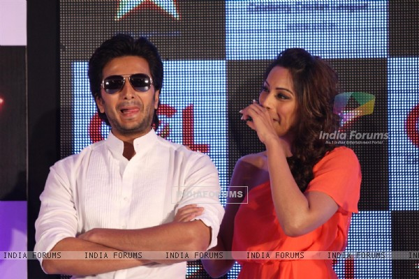 Ritesh Deshmukh and Bipasha Basu at CCL broadcast tie up announcement with Star Network