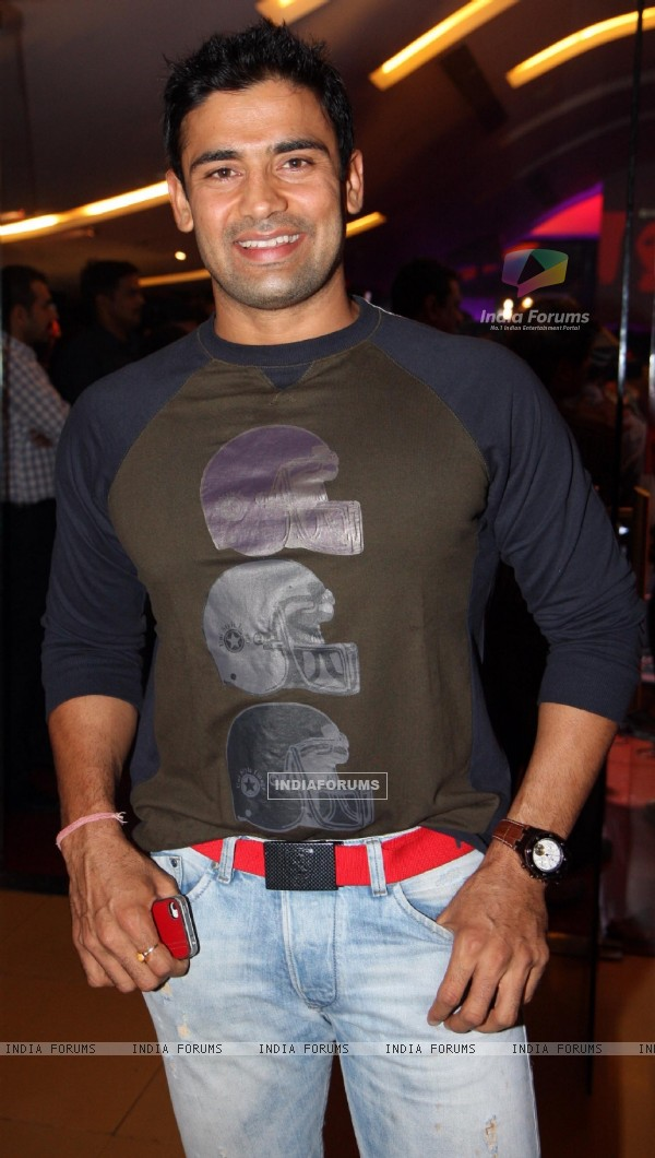 Sangram Singh at music launch of film Dehraadun Diary in Cinemax, Andheri West Mumbai.