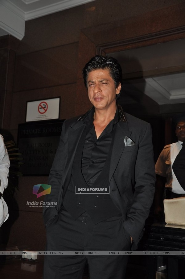 Shahrukh Khan at Abhinav & Ashima Shukla wedding reception
