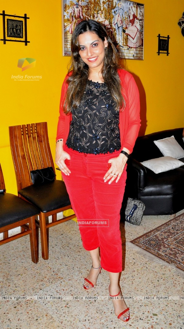 Preety Bhalla hosted a Chrismas party at her home