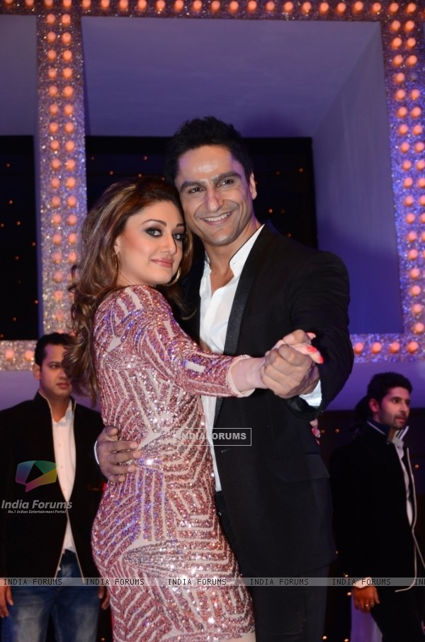 Shefali Jariwala and Parag Tyagi at Nach Baliye 5