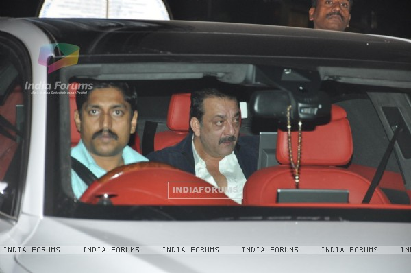 Sanjay Dutt visits David Dhawan at Lilavati Hospital