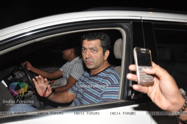 Kunal Kohli visits David Dhawan at Lilavati Hospital