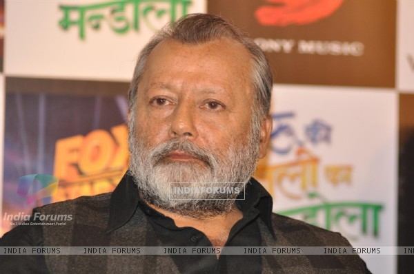 Pankaj Kapoor at Press Meet Film Matru ki Bijlee ka Mandola