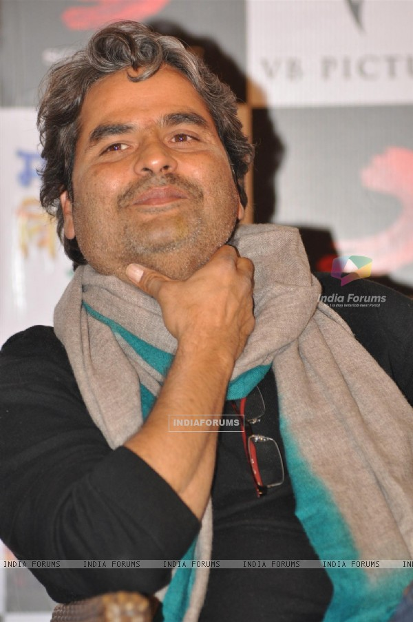 Vishal Bharadwaj at Press Meet Film Matru ki Bijlee ka Mandola