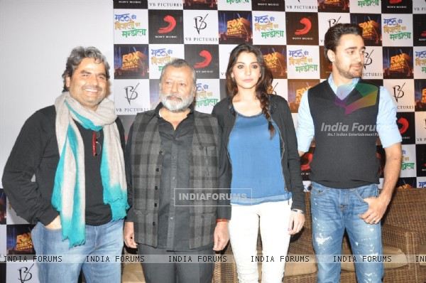 Press Meet Film Matru ki Bijlee ka Mandola