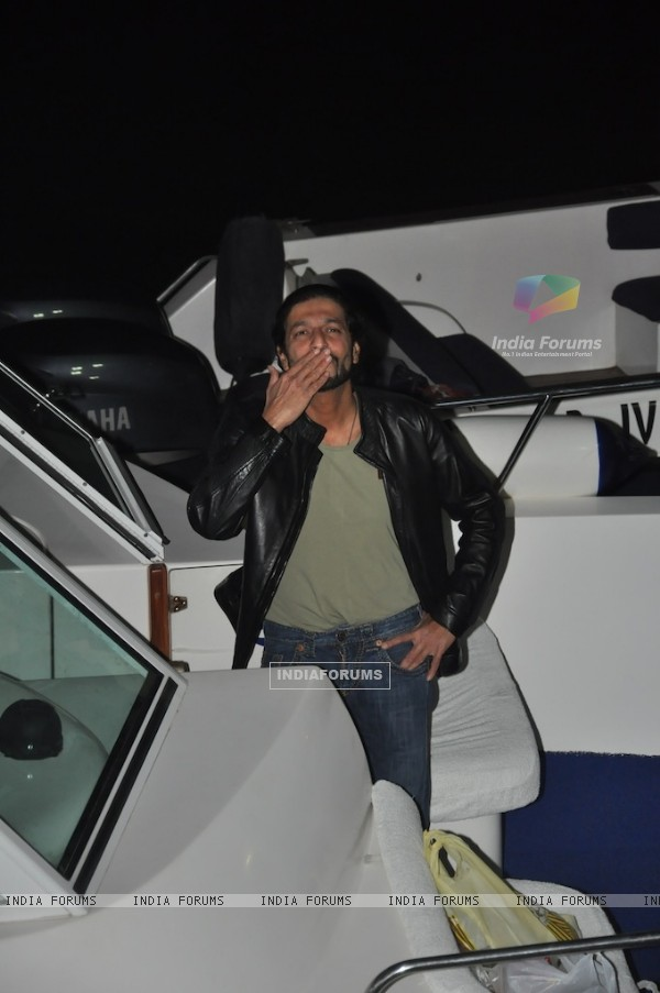 Chunky Pandey at Hrithik Roshan Birthday Bash