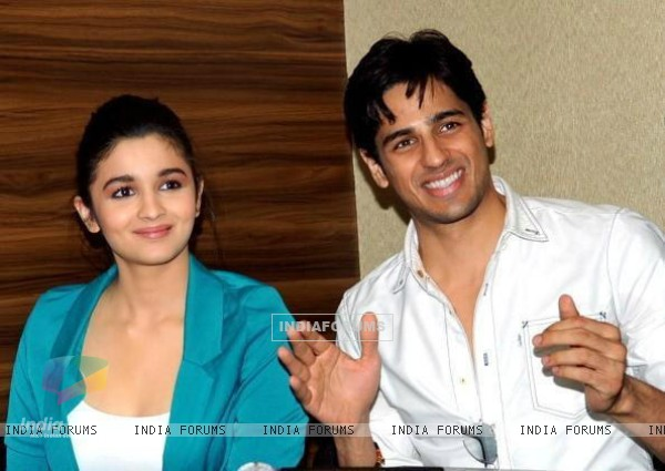Alia and Siddharth