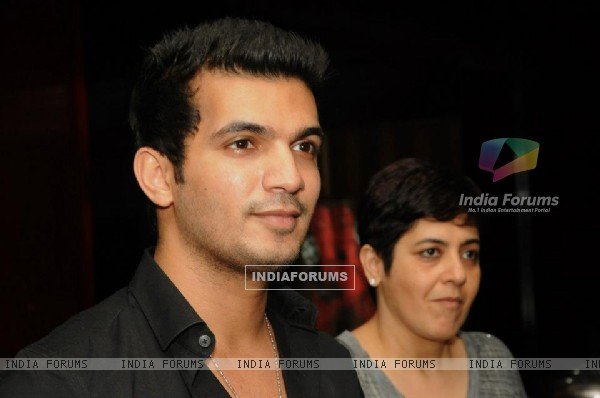 Arjun Bijlani at the Private screening of his short film