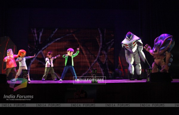 The BEN 10 live show at the Siri Fort Auditorium in New Delhi. (Photo: IANS/Amlan)
