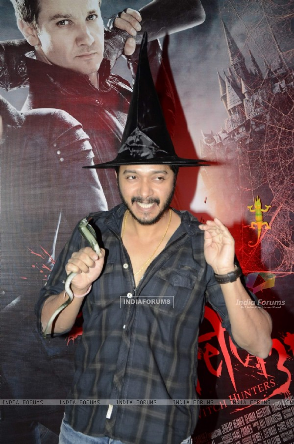 Bollywood actor Shreyas Talpade at the screening of 3D film Hansel and Gretel in PVR Juhu, Mumbai on Wednesday, January 30th, evening.