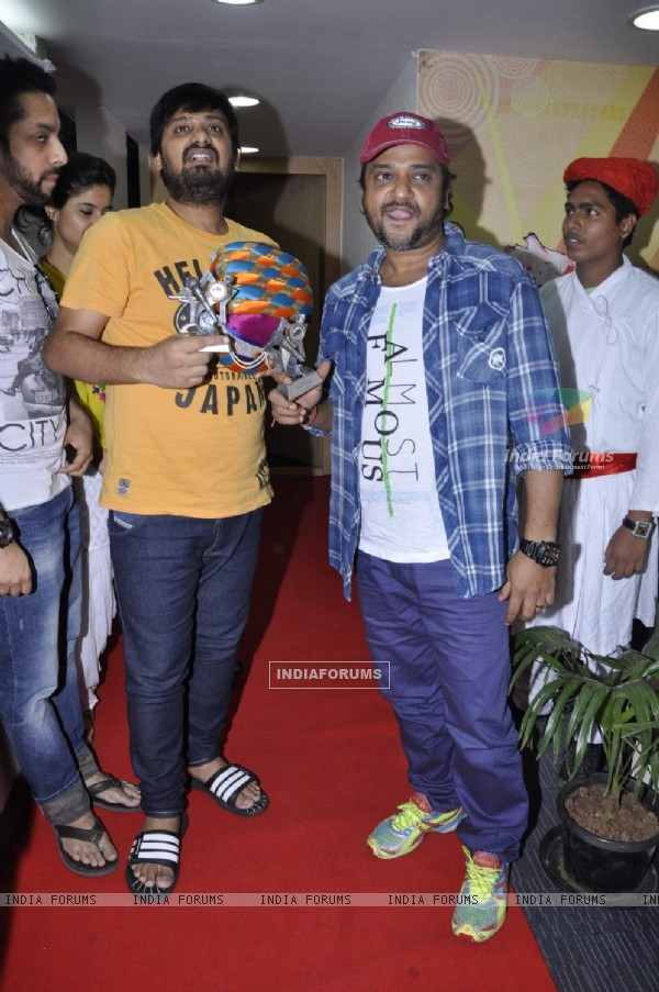 Music director duo Sajid-Wajid Ali at a musical festival 'Musical-E-Azam' season 5 by Radio City 91.1FM in Bandra, Mumbai on Wednesday, January 30th, evening.