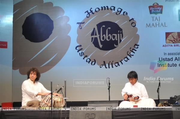 Homage to Abbaji 13th Barsi of  late Tabla Maestro  Ustad Allarakha