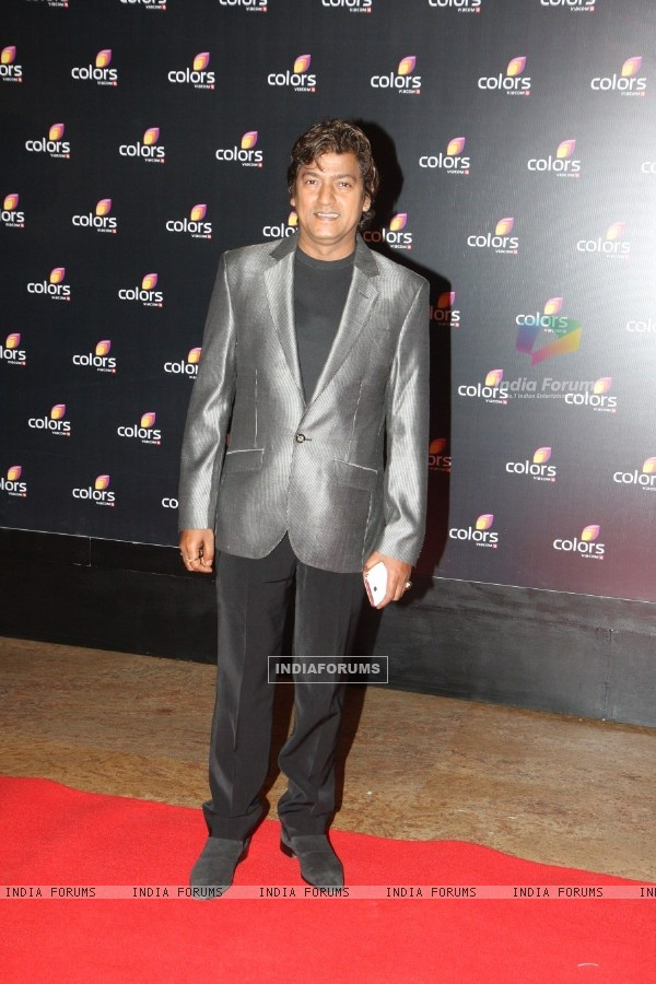 Aadesh Shrivastav at the 4th anniversary party of COLORS Channel