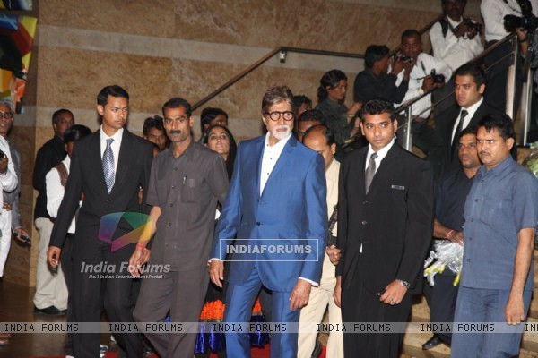 Amitabh Bachchan at the 4th anniversary party of COLORS Channel