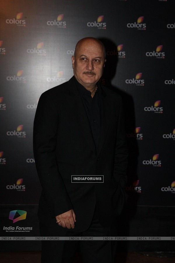 Anupam Kher at the 4th anniversary party of COLORS Channel