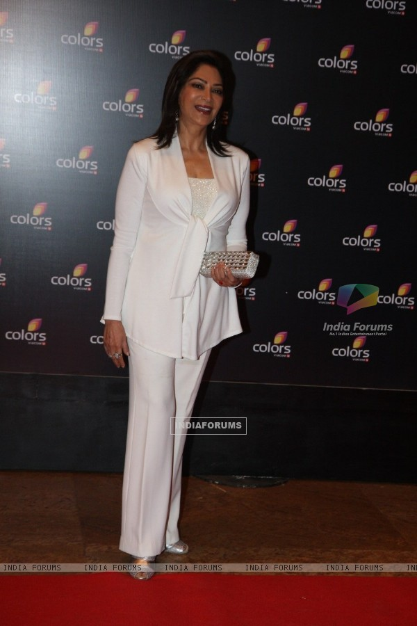 Simi Garewal at the 4th anniversary party of COLORS Channel
