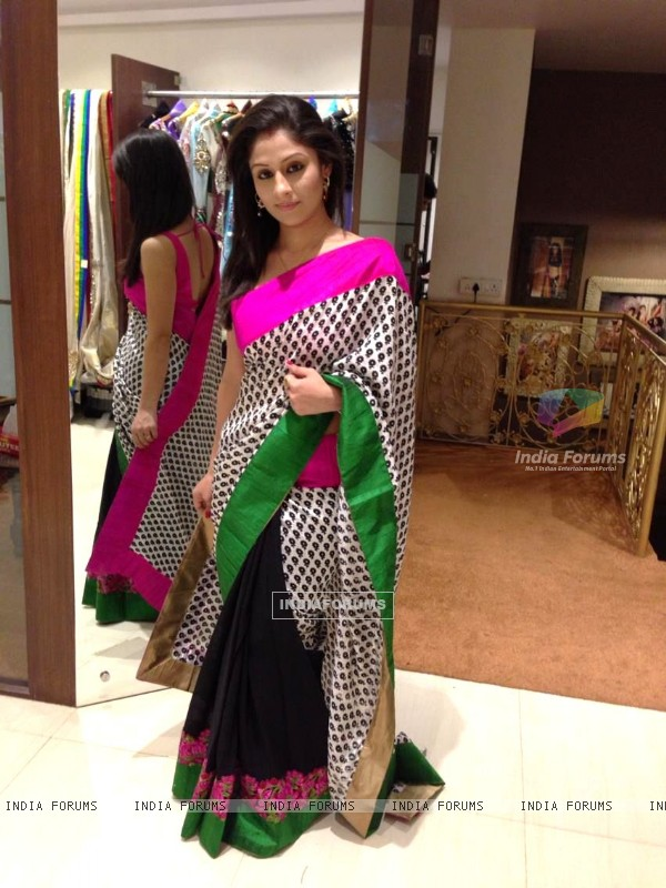 Ankita Sharma in saree