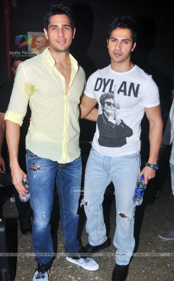 Varun and Siddharth