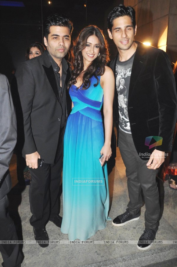 Karan, Ileana and Siddharth