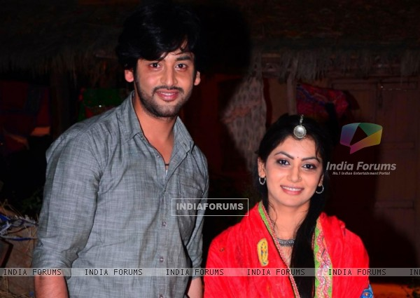 Shashank Vyas and Sriti Jha as Jagya and Ganga in Balika Vadhu