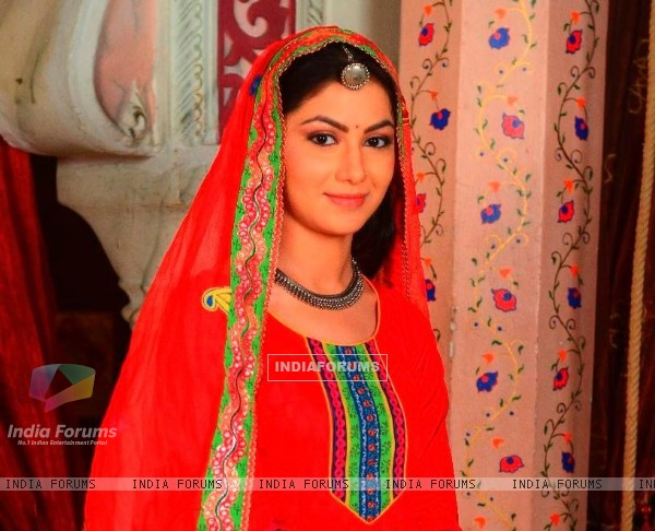 Sriti Jha as Jagya and Ganga in Balika Vadhu