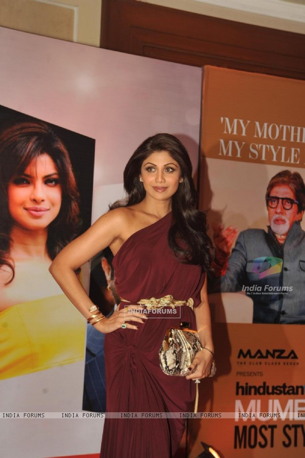 Shilpa Shetty at Hindustan Times Style Awards