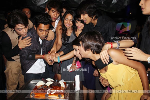 At the celebration of Completion OF 200 Episodes of D3