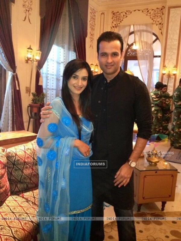 Rai Pandey and Rohit Roy