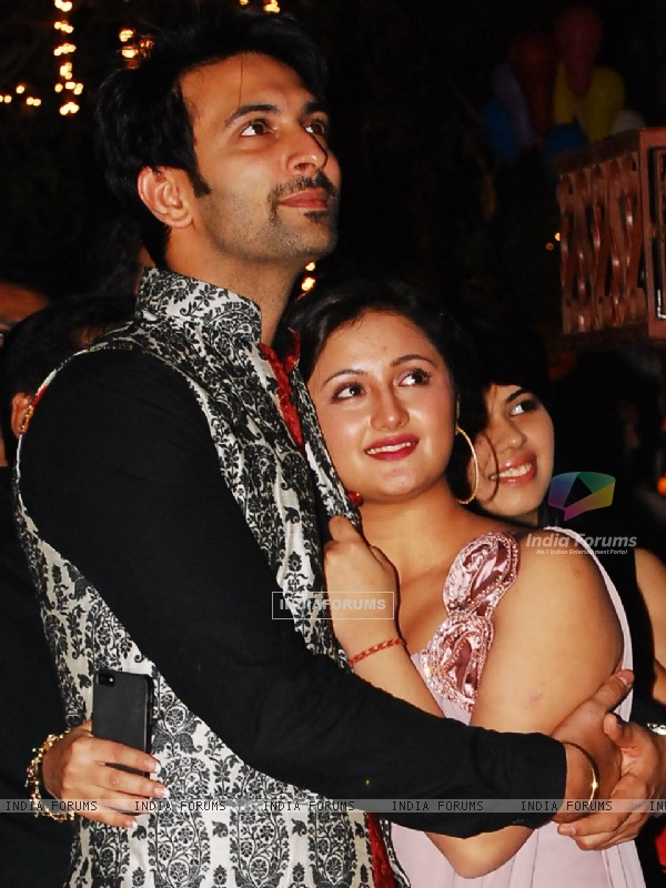Nandish Sandhu and Rashmi Desai Anniversary and Birthday Party