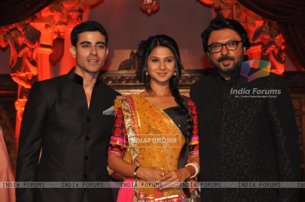 Gautam Rode, Jennifer Winget with Sanjay Leela Bhansali