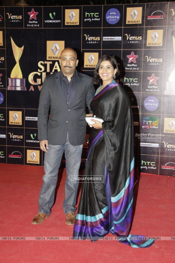 Sonali Kulkarni at Renault Star Guild Awards 2013