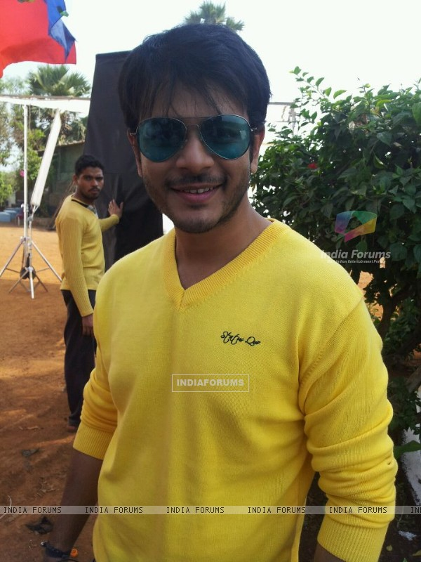 Jay soni while shooting