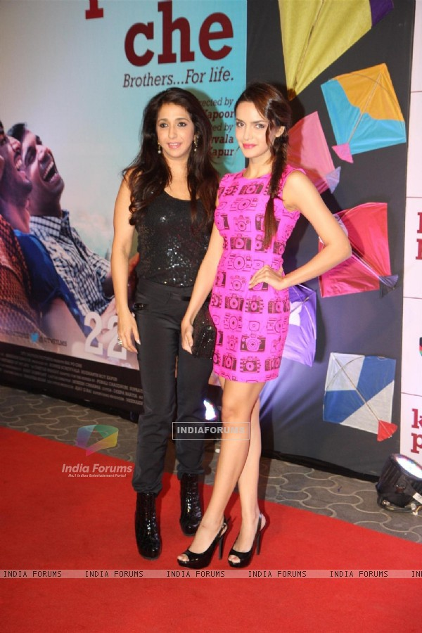 Krishika Lulla and Shazahn Padamsee at Film Kai Po Che Premiere