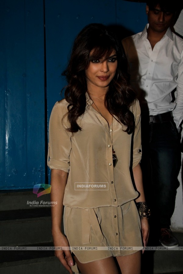 Priyanka Chopra at Sanjay Leela Bhansali's Birthday party