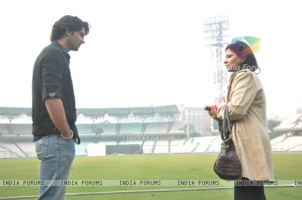 Barun Sobti with Mitali Ghoshal