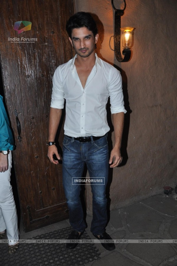 Sushant Singh Rajput at Success bash of 'Kai Po Che!'