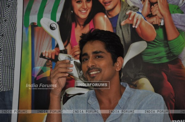 Siddharth Narayan at Film Chashme Baddoor Promotion on Meethi Bai College