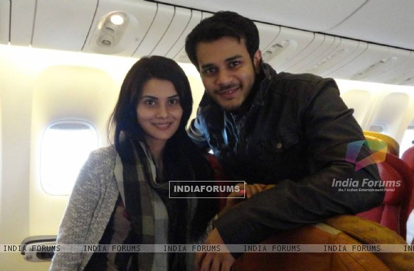 Jay and Shamin mannan in USA